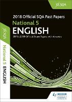 National 5 English 2018-19 SQA Past Papers with Answers (Paperback)
