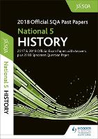 National 5 History 2018-19 SQA Specimen and Past Papers with Answers (Paperback)