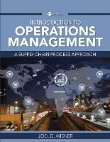Introduction to Operations Management: A Supply Chain Process Approach (Paperback)