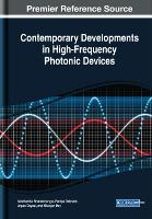 Contemporary Developments in High-Frequency Photonic Devices (Hardback)