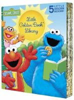 Sesame Street Little Golden Book Library 5-Book Boxed Set: My Name Is Elmo; Elmo Loves You; Elmo's Tricky Tongue Twisters; The Monster on the Bus; The Monster at the End of This Book - Little Golden Book (Hardback)