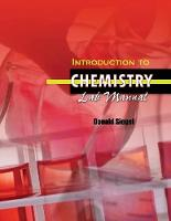 Introduction to Chemistry Lab Manual (Paperback)