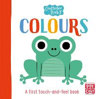 Chatterbox Baby: Colours: A touch-and-feel board book to share - Chatterbox Baby (Board book)