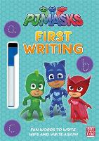 PJ Masks: First Writing Wipe Clean: Get ready to write with the PJ Masks! - PJ Masks (Paperback)