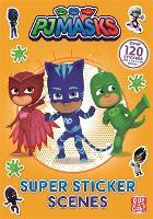 PJ Masks: Super Sticker Scene Book - PJ Masks (Paperback)