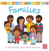 Find Out About: Families: A lift-the-flap book about families - Find Out About (Board book)