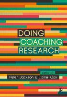 Doing Coaching Research (Hardback)