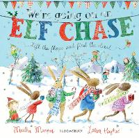 We're Going on an Elf Chase: Board Book (Board book)
