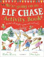 We're Going on an Elf Chase Activity Book (Paperback)