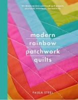Modern Rainbow Patchwork Quilts