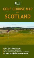 Golf Course Map of Scotland