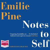 Notes to Self (CD-Audio)