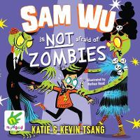 Sam Wu is Not Afraid of Zombies (CD-Audio)