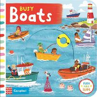 Busy Boats - Busy Books (Board book)