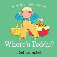 Where's Teddy? (Board book)