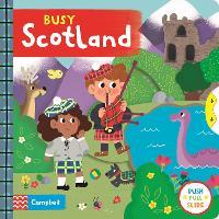 Busy Scotland - Busy Books (Board book)
