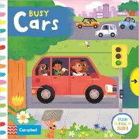 Busy Cars - Busy Books (Board book)