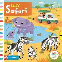 Busy Safari - Campbell Busy Books (Board book)