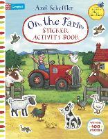On The Farm Sticker Activity Book - Campbell Axel Scheffler (Paperback)