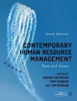 Contemporary Human Resource Management: Text and Cases (Hardback)