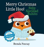 Merry Christmas, Little Hoo! / Feliz Navidad Buhito (Hardback)