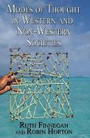 Modes of Thought in Western and Non-Western Societies (Paperback)