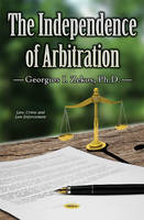Independence of Arbitration (Hardback)