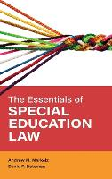 The Essentials of Special Education Law - Special Education Law, Policy, and Practice (Hardback)