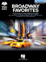 Broadway Favorites - Men's Edition: 25 Hit Songs from 20 Contemporary Classic Shows (Book)