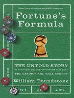 Fortune's Formula: The Untold Story of the Scientific Betting System That Beat the Casinos and Wall Street (CD-Audio)