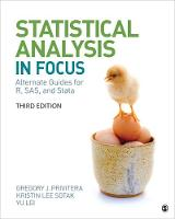 """Statistical Analysis """"In Focus"""": Alternate Guides for R, SAS, and Stata for Statistics for the Behavioral Sciences (Paperback)"""