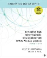 Business and Professional Communication - International Student Edition: KEYS for Workplace Excellence (Paperback)
