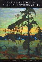 The Aesthetics of Natural Environments (Paperback)