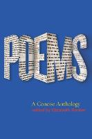 Poems: A Concise Anthology (Paperback)