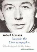 Notes on the Cinematographer (Paperback)