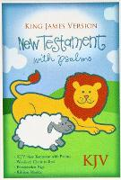 KJV Baby's New Testament, Blue Imitation Leather (Leather / fine binding)