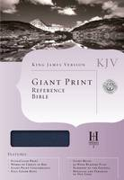 Giant Print Reference Bible: King James Version (Hardback)
