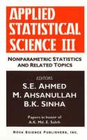 Applied Statistical Science III: Nonparametric Statistics & Related Topics (Hardback)