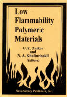 Low Flammability Polymeric Materials (Hardback)