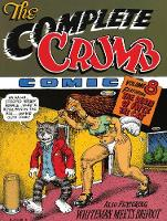 The Complete Crumb Comics Vol.8: The Death of Fritz the Cat (Paperback)