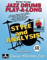 Maiden Voyage Jazz Drums Play-A-Long: Full Drum Play-A-Long Tracks with Selected Drum Transcriptions form the Volume 54: Maiden Voyage Recording of the Jamey Aebersold Play-A-Long series - Jamey Aebersold Play-A-Long series (Sheet music)