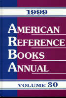American Reference Books Annual 1999 (Hardback)