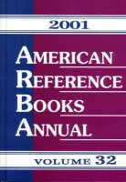 American Reference Books Annual 2001: v. 32 (Hardback)