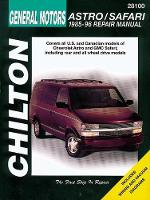 Chevrolet Astro/Safari Automotive Repair Manual