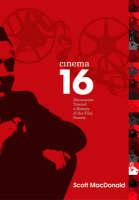 Cinema 16: Documents Toward History Of Film Society - Wide Angle Books (Hardback)