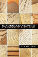 Reading Susan Sontag: A Critical Introduction to Her Work (Hardback)