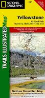 Yellowstone National Park: Trails Illustrated National Parks (Sheet map, folded)