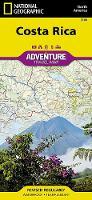 Costa Rica: Travel Maps International Adventure Map (Sheet map, folded)