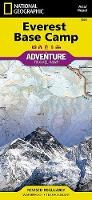 Everest Base Camp, Nepal: Travel Maps International Adventure Map (Sheet map, folded)