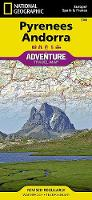 Pyrenees And Andorra: Travel Maps International Adventure Map (Sheet map, folded)